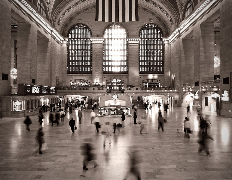 Morning Rush - Grand Central Terminal - New York City