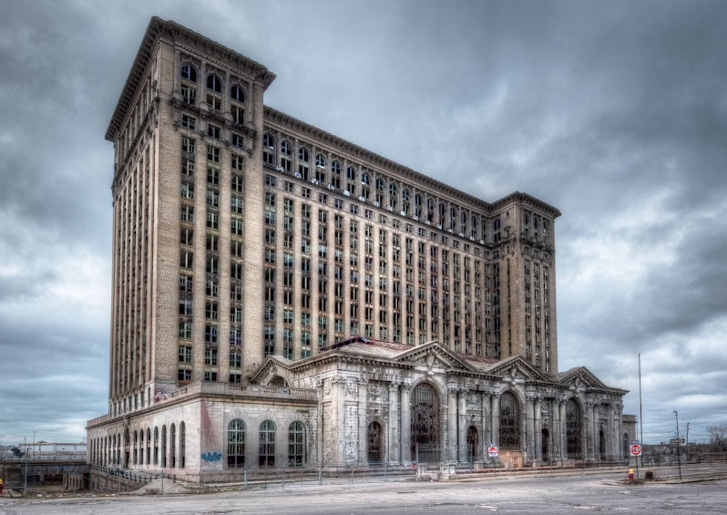 Michigan Central Depot - HDR