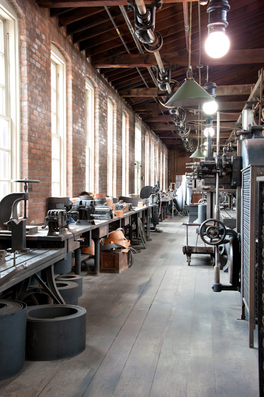 Armington & Sims Machine Shop - as shot