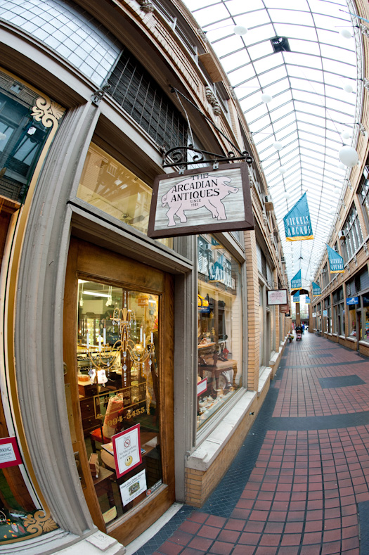 Arcadian Antiques - Nickels Arcade (as shot)