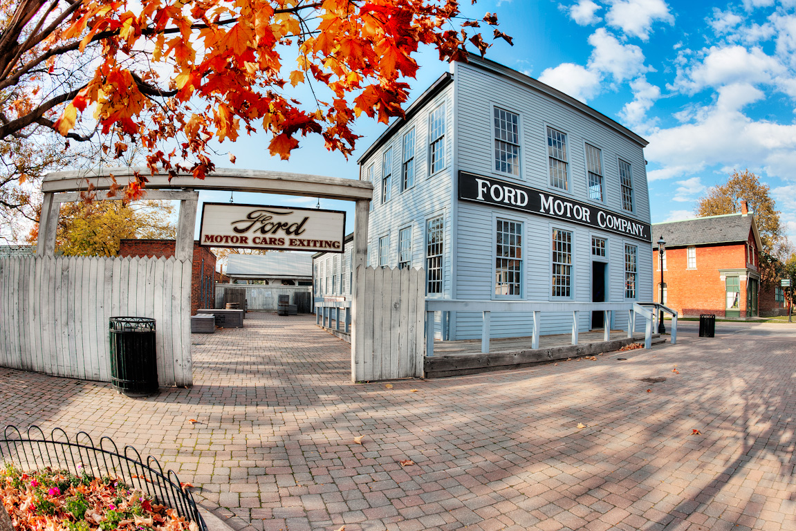 Ford Motor Company Building - Greenfield Village