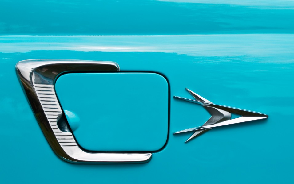 '56 Plymouth Hardtop Detail
