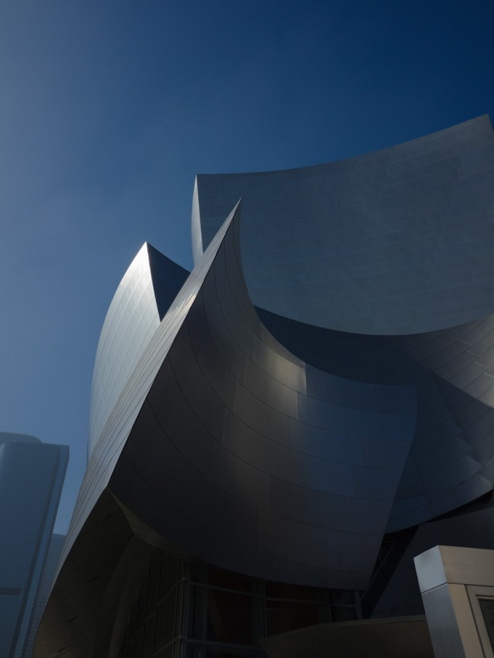 Disney Concert Hall - As Shot